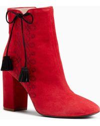 d9233611244b Lyst - Women s Kate Spade Heel and high heel boots Online Sale