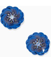 Kate Spade - Snowy Nights Statement Studs - Lyst