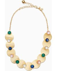 Kate Spade - Sunshine Stones Crew Necklace - Lyst