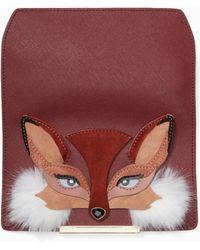 Kate Spade - Make It Mine Fox Flap - Lyst