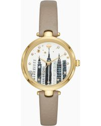 Kate Spade - Cityscape Dial Holland Watch - Lyst