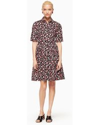 Kate Spade - Mini Casa Flora Shirtdress - Lyst