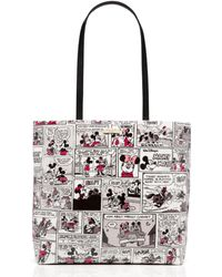 Kate Spade - New York For Minnie Mouse Comic Tote - Lyst