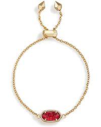 Kendra Scott - Elaina Adjustable Chain Bracelet - Lyst