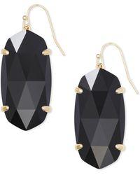 Kendra Scott - Esme Gold Drop Earrings - Lyst