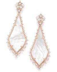 Kendra Scott - Martha Statement Earrings - Lyst