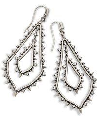 Kendra Scott - Alice Statement Earrings - Lyst