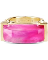 Kendra Scott - Jeanne Cocktail Ring In Magenta Pearl - Lyst