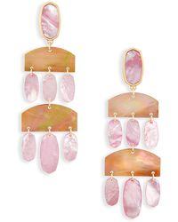 Kendra Scott - Emmet Statement Earrings - Lyst