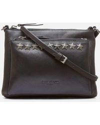 Kenneth Cole - Star Stud Mini Leather Crossbody - Lyst