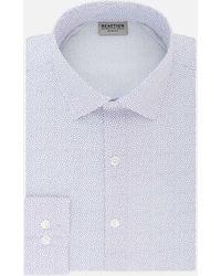 Kenneth Cole Reaction - Short Square Slim-fit Dress Shirt - Lyst