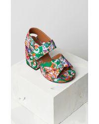 KENZO - Aori Heeled Sandals - Lyst