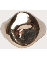 Clark Heldman | Melting Signet Pinky Ring | Lyst