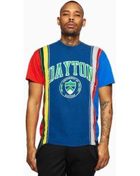 Needles | 7 Cuts College Tee | Lyst