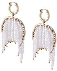 Ellery - Emin Fringed Earrings - Lyst