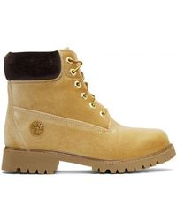 Off-White c/o Virgil Abloh - Timberland Edition Velvet Boots - Lyst
