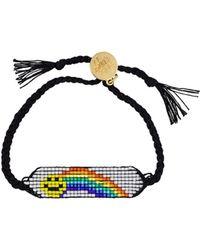 Venessa Arizaga - Rainbow Smiley Bracelet - Lyst