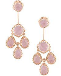 Larkspur & Hawk - Antoinette Suspended Earring - Pink - Lyst
