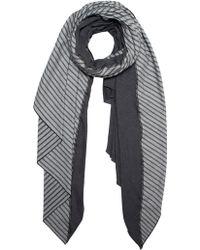 Donni Charm - Stripe Diagonal Scarf - Lyst