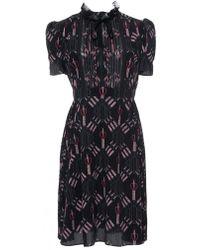 Valentino - Love Blade Short-sleeve Dress - Lyst