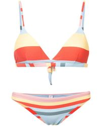 Asceno - Striped Bikini - Lyst