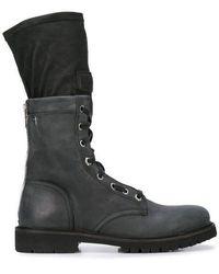 RTA - Combat Sock Boots - Lyst