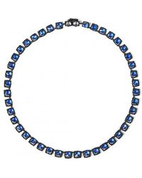 Larkspur & Hawk - Bella Small Riviere Necklace - Lyst
