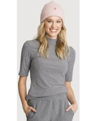 Kit and Ace - Mock Neck Rib Mid Sleeve - Lyst
