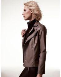 Krisa - Double Moto Jacket - Lyst