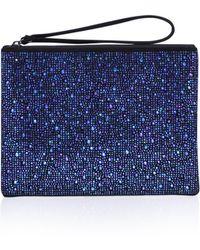 Carvela Kurt Geiger - Glassy Pouch In Blue - Lyst
