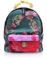 Kurt Geiger - Fabric Chantal Backpack In Multi/other - Lyst
