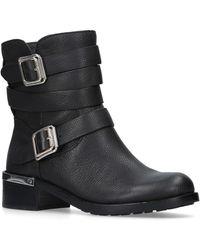 Vince Camuto - 'webey' Mid Heel Biker Boots - Lyst