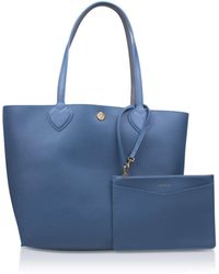 Anne Klein - Reversable Tote In Blue Other - Lyst