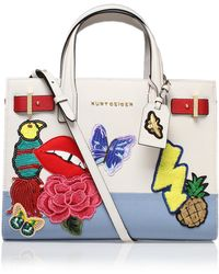 Kurt Geiger - Saffiano London Tote In Other - Lyst