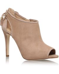 MICHAEL Michael Kors - Jennings Bootie In Taupe - Lyst