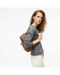 Lacoste - Daily Classic Coated Piqué Canvas Backpack - Lyst