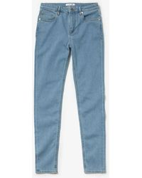 Lacoste - Skinny Fit Jeans In Stretch Cotton - Lyst