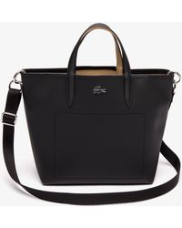 Lacoste - Anna Dual Carry Reversible Canvas Tote Bag - Lyst