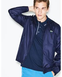 Lacoste - Sport Metallic Zip Golf Jacket - Lyst