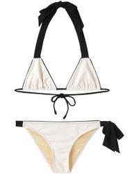 3.1 Phillip Lim - Ribbon Tie Bikini Set - Lyst