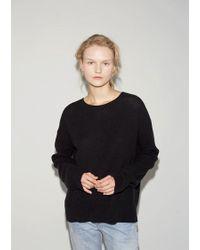 Organic By John Patrick - Thermal Potato Sweatshirt - Lyst