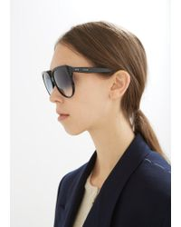 Céline - Oversized Acetate Gradient Sunglasses - Lyst