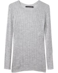 Thakoon - Ribbed Crewneck Pullover - Lyst
