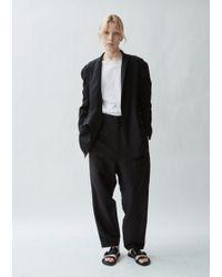 Yohji Yamamoto - Wool Gored Sleeve Gown Jacket - Lyst