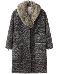 Girl by Band of Outsiders - Cocoon Coat - Lyst