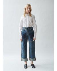 JW Anderson - Shaded Pocket Detail Denim Trousers - Lyst