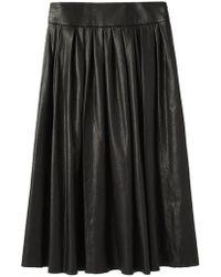 Organic By John Patrick - Leather Skirt - Lyst
