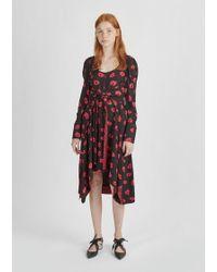 Proenza Schouler - Printed Halter Tie Dress - Lyst