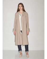 898a4e888719d Lyst - Women s Harris Wharf London Raincoats and trench coats On Sale