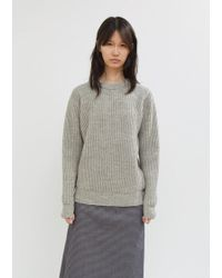 MHL by Margaret Howell - Fishermans Rib Sweater - Lyst